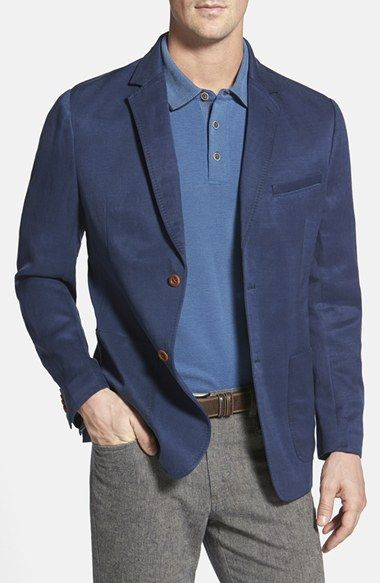 Free shipping and returns on Tommy Bahama 'La Jolla' Blazer at Nordstrom.com. When it's time for some seriously stylish relaxation, slide on this breezy sport coat tailored from a breathable blend of lyocell and linen. The classic two-button, notch-lapel design maintains appropriate polish, while the casual textured weave, patch pockets and pickstitched details keep the style laid-back enough for the beach bar and beyond.