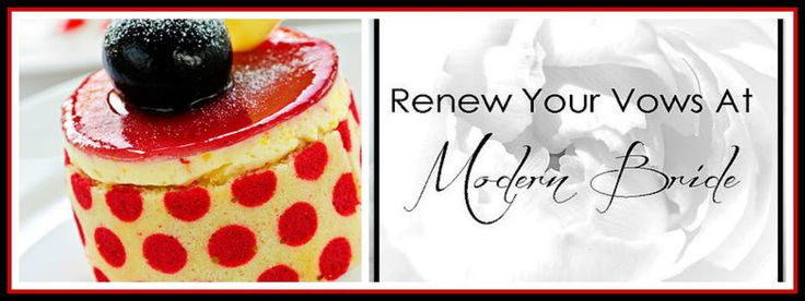 Meet The Cake Boss of Victoria! Vow Renewal At Modern Bride  More information coming soon.