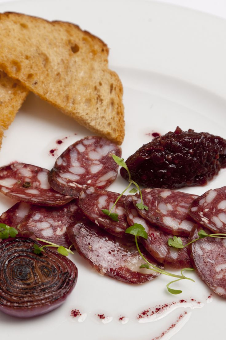 Emily Watkins shares an inspiring homemade salami recipe, including a method for making a red onion and sloe gin marmalade for good measure. If you have ambitions to make your own charcuterie then this recipe is a great place to start.