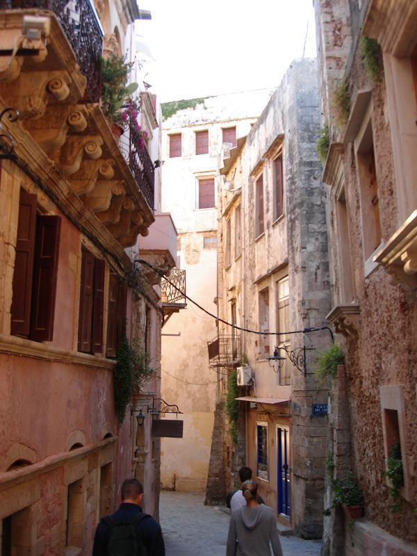 the old town of chania