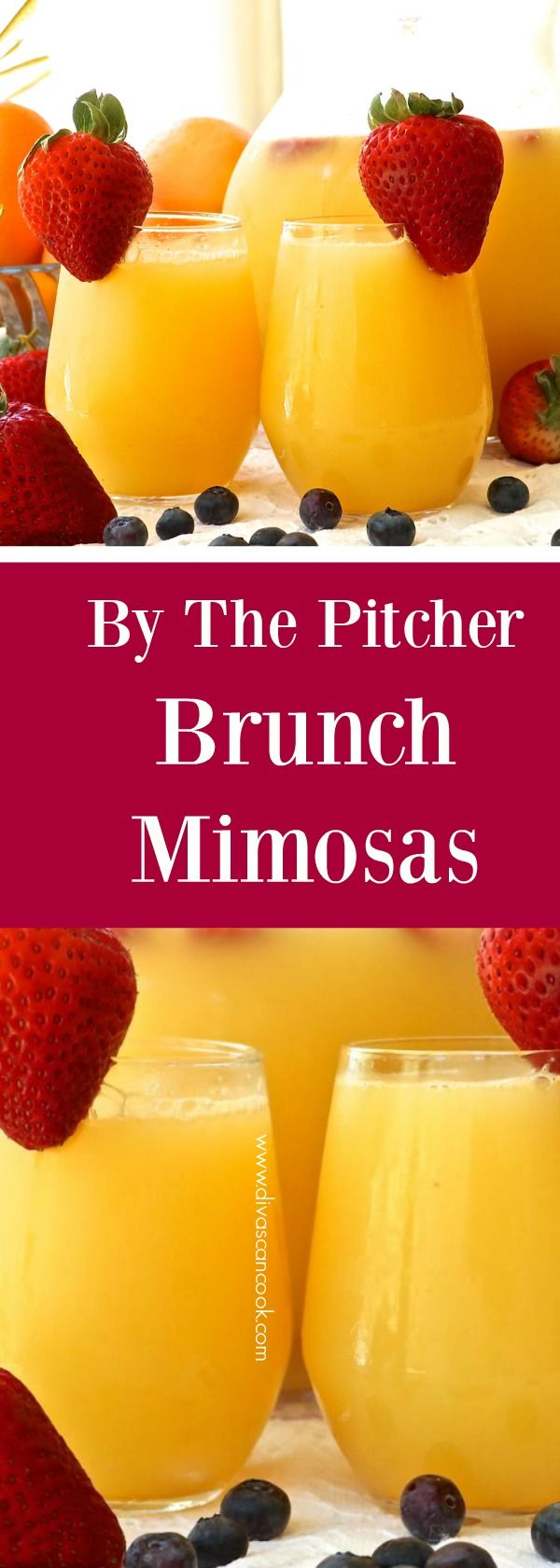 Easy mimosa by the pitcher!!