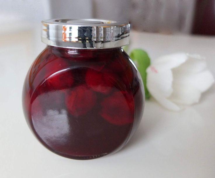 Rezept Sauerkirsch-Amaretto-Marmelade von Schirmle - Rezept der Kategorie Saucen/Dips/Brotaufstriche