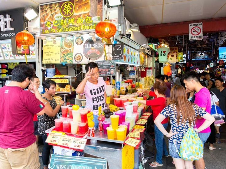 Grab a drink and a bargain on Bugis Street