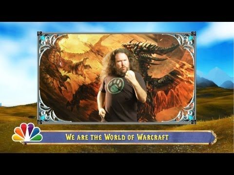 """""""We Are The World Of Warcraft"""" - Jimmy Fallon With some help from Felicia Day, Chris Hardwick and Warcraft players all around the world, Jimmy celebrates one of the best video games of all time. facebook.com/JimmyFallon"""