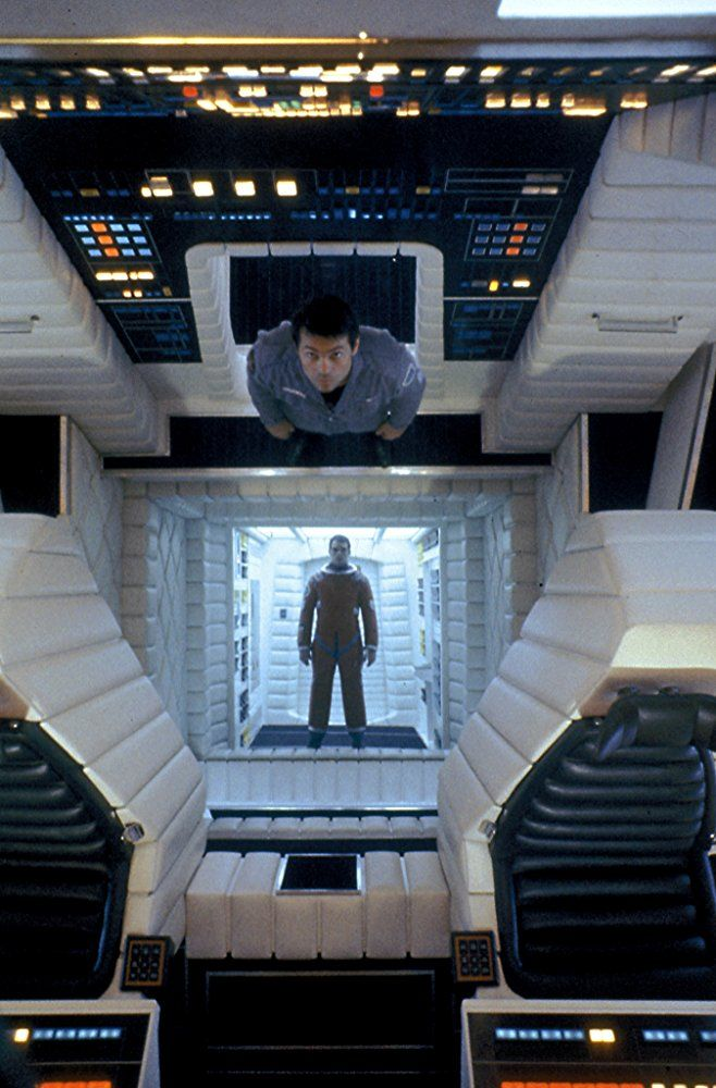 Inside The Spaceship 2001 A Space Odyssey 1968 With Images