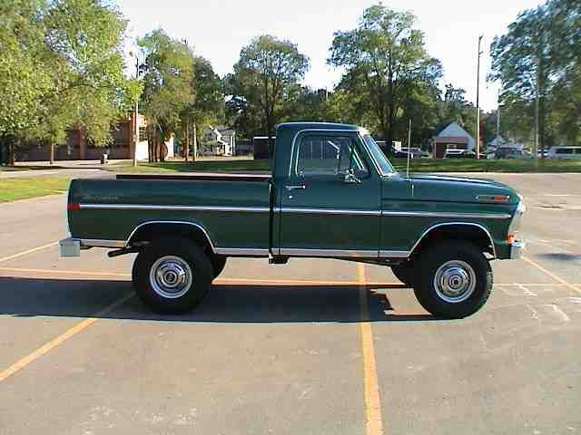 Classic Ford 1972 Pickup.
