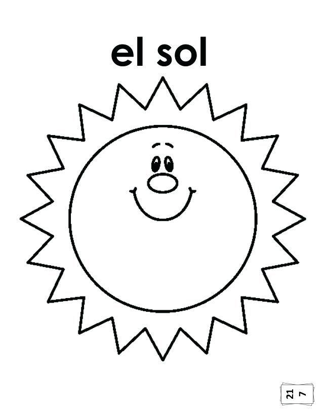 Cono De Helado Para Colorear 7 Sol Colorear En Ingles Para Ninos