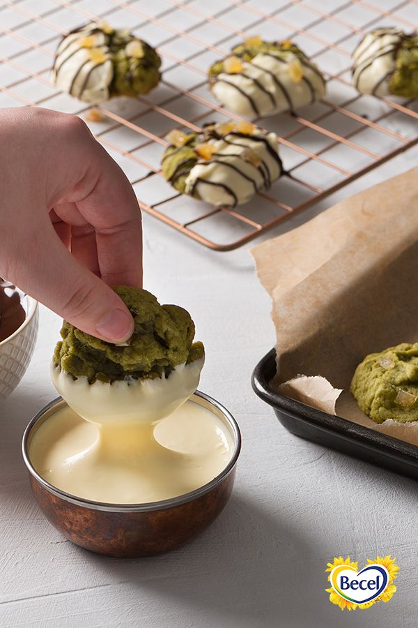 Our Anything Goes Cookie Dough Matcha Cookies recipe is prepped in less than 30 minutes.