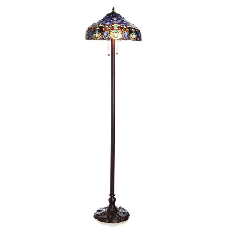 Warehouse of Tiffany Arielle Floor Lamp - 16099-202 IVORY