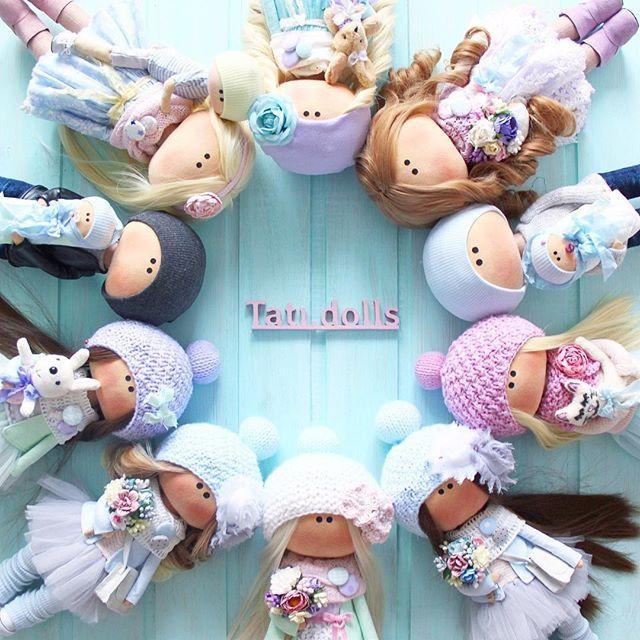 Встаньте, дети, встаньте в круг, встаньте в круг... мой #кукольныйбублик