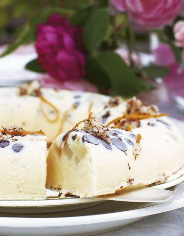 Marcipanis med krymmel - Is - Kage & dessert - Isabellas