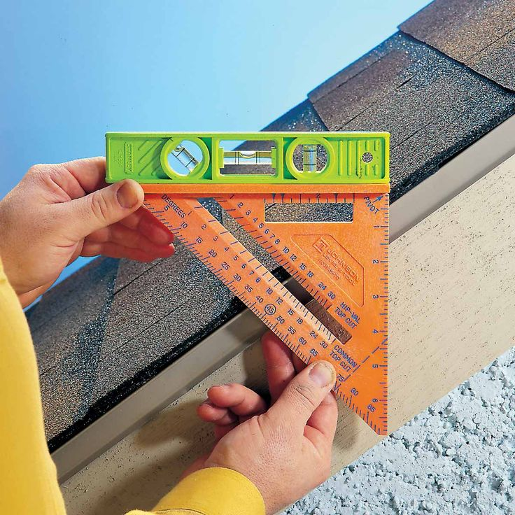 The Speed Square was created in 1925 by Alfred Swanson and has become an essential tool for carpenters and DIYers the past 90 years. Its uses extended beyond square measurements and measuring rise and run for roofs, check out some of them.