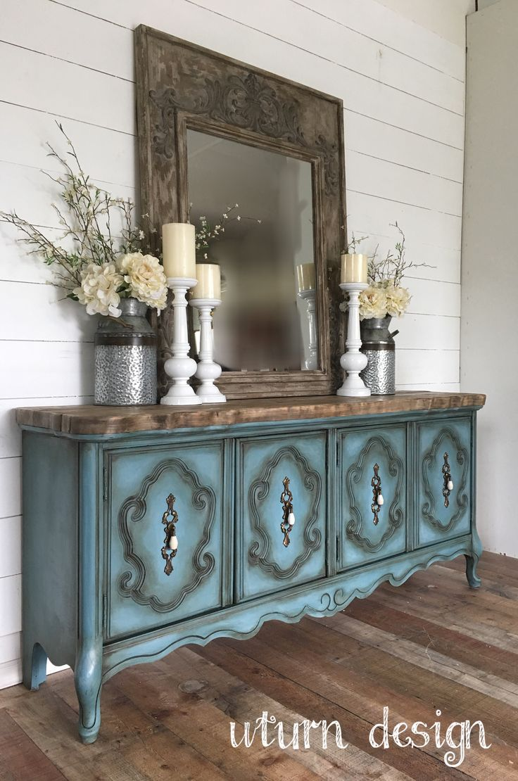 French provincial buffet  By uturn design
