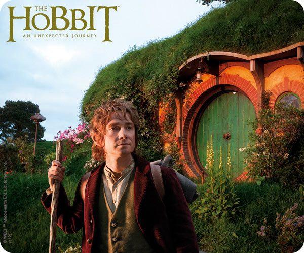 Alfombrilla ordenador El Hobbit. Bilbo, 23x19cm