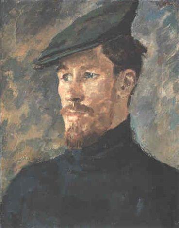 Augustus Edwin John - The fisherman