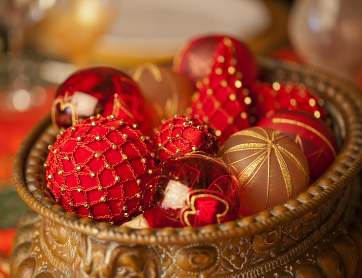 Oriental Christmas tablesetting by Decopolitain - Estelle Ayer, 2012
