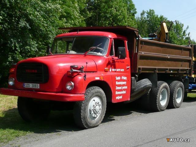 Tatra 148, 6X6, V-8 DIESEL, 230 HP