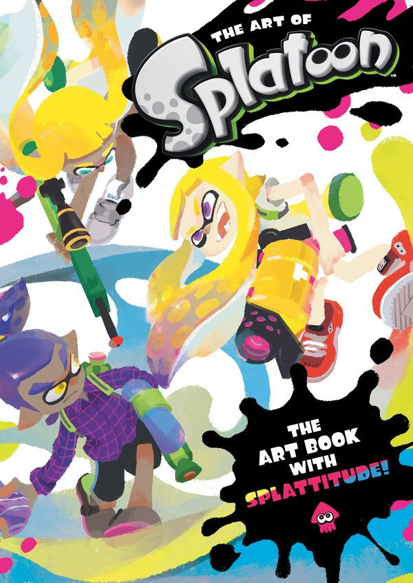 The Art of Splatoon contains 320 inkredible pages of artwork from Nintendo's splash-hit video game, including 2D and 3D illustrations of your favorite characters, maps, concept art, weapon and gear design, storyboards, sketches, hand-drawn comics . . . and that's only an inkling of what's inside. We're not squidding around: this is a must-have for all fans of Splatoon! #art #book #gaming
