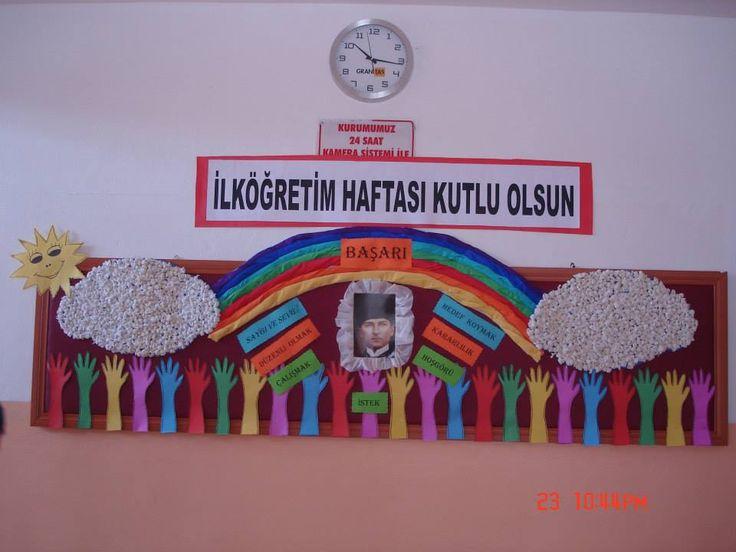 ILKÖĞRETİM HAFTASI.        HAZNEDAR