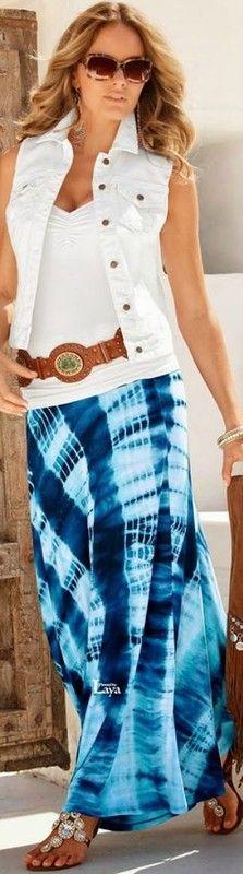 Лето: юбки макси - Fresh - Свежий взгляд на стиль