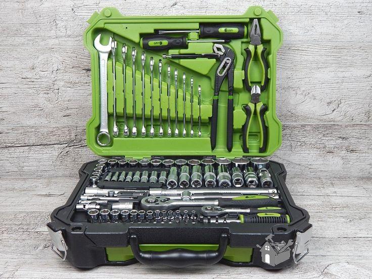 Набор инструментов Alloid НГ-4115П (115 предметов)