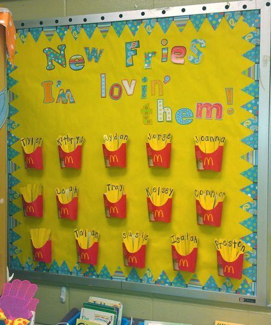 Classroom Bulletin Design ~ Pre k classroom designs ideas in