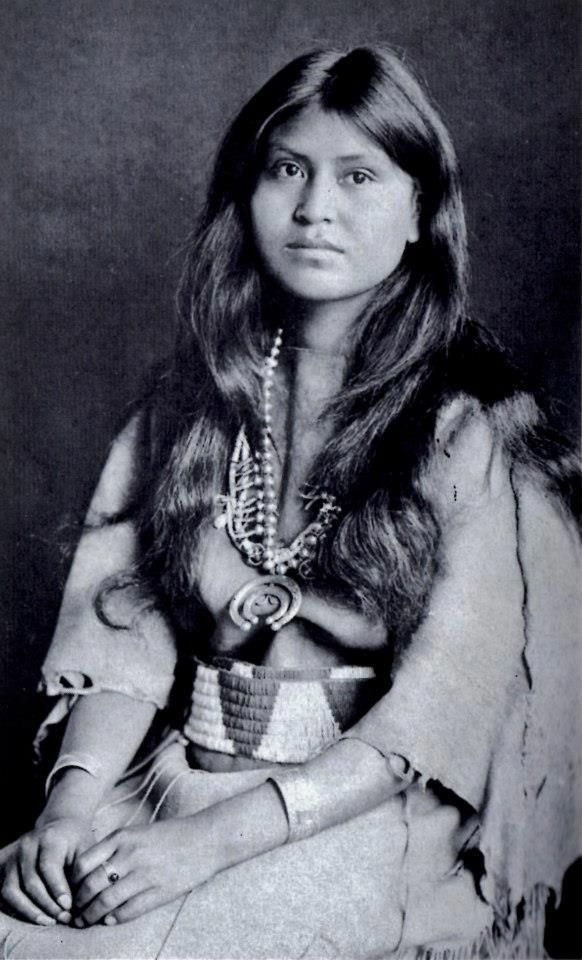Native American Woman:
