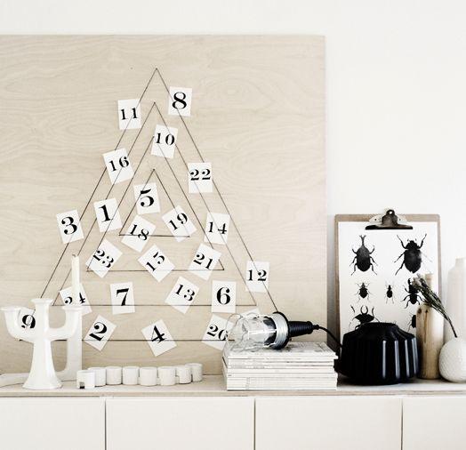 Scandi DIY Advent Calendar