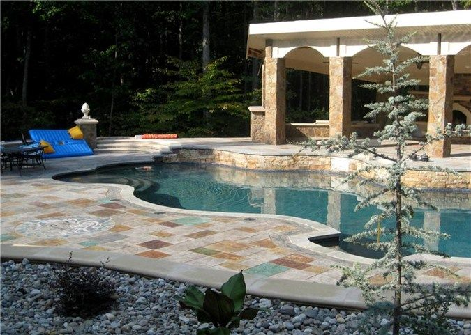 167 best stain-ur-way pools images on pinterest | pool decks