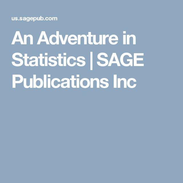 An Adventure in Statistics | SAGE Publications Inc