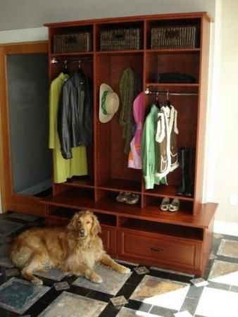 entry stand alone closet style