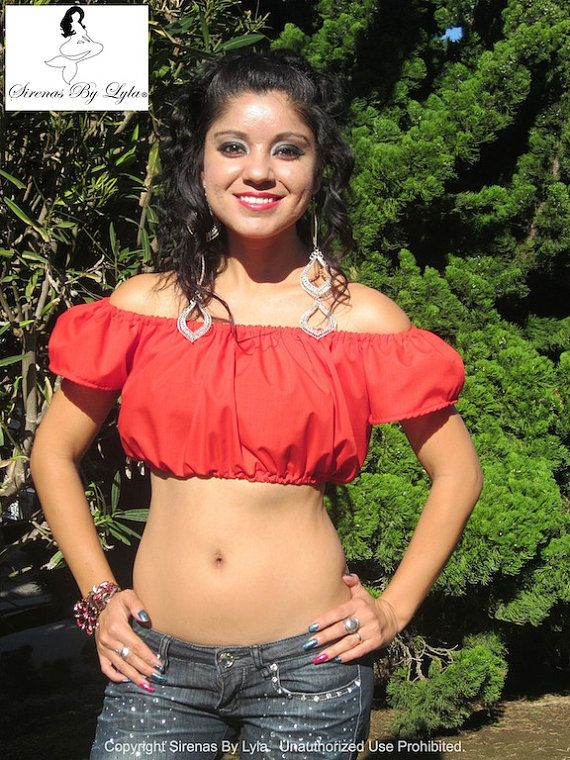 Bella Rossa Crop Top