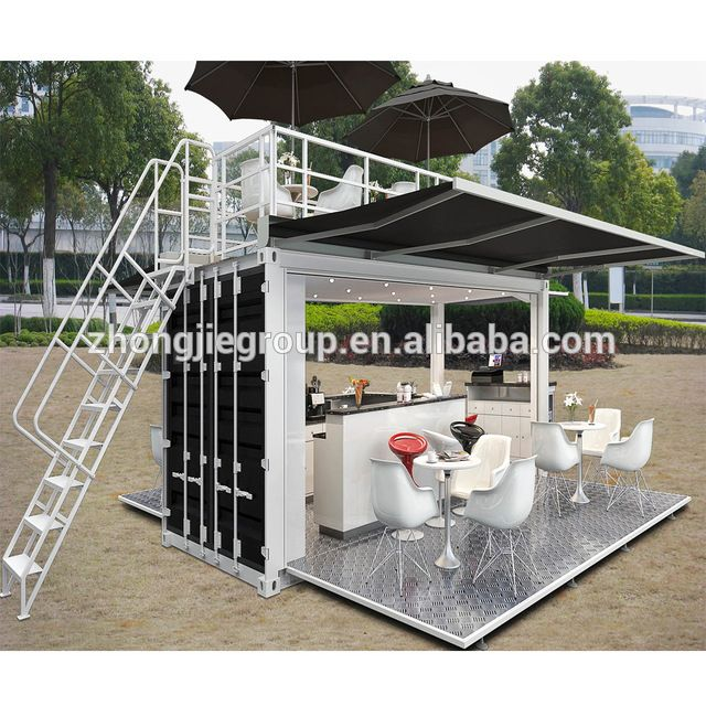 Source Pop Up Mobile Coffee Shop Container Design 10ft 20ft 40ft Prefabricated Shipping Contain Container Coffee Shop Mobile Coffee Shop Container House Price