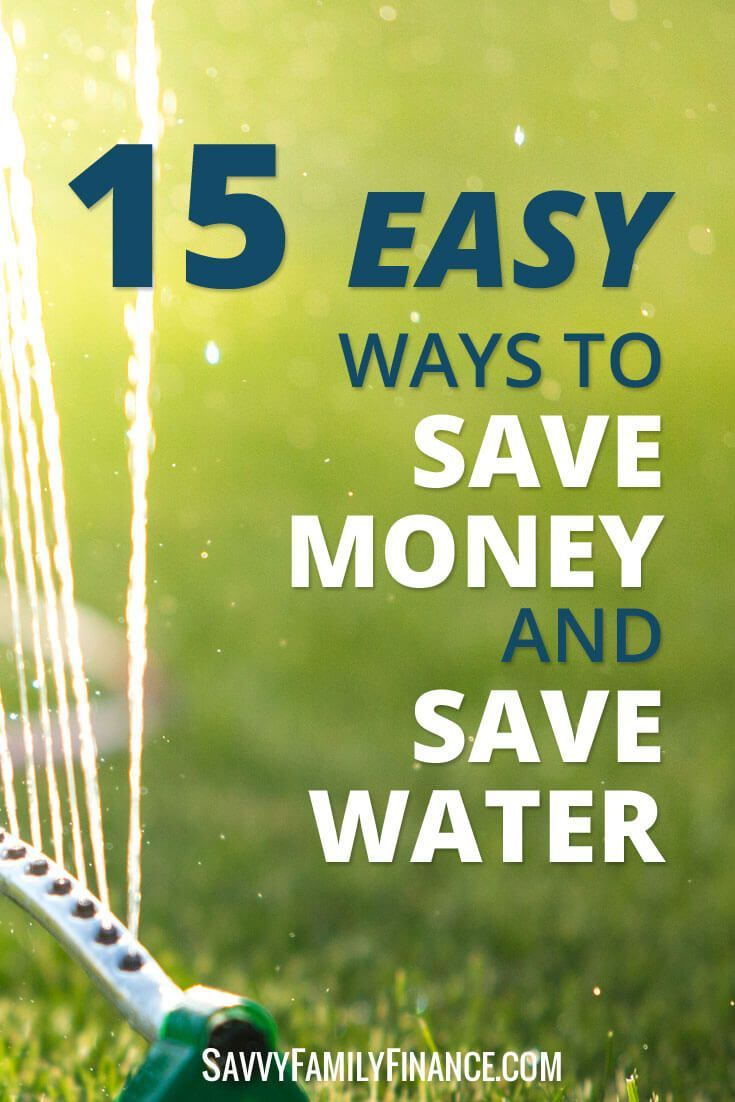 We have easy tips on how you can save money and save water.   Lower water bill | reduce water bill | conserve water