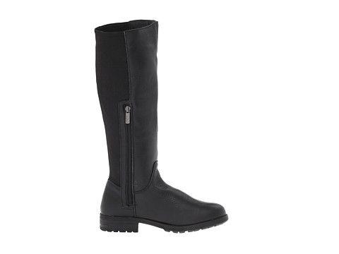 DKNY Neema Black Leather - 6pm.com