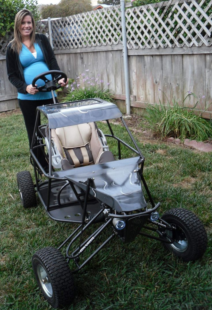 WOW...Fn Badass! I deff want this buggy stroller :-)