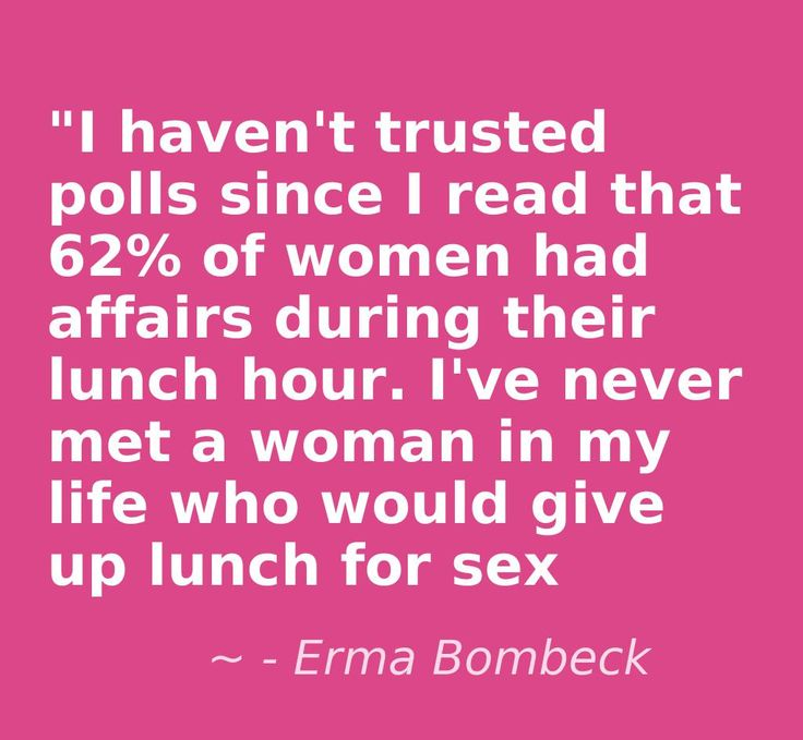 affairs. Erma Bombeck.