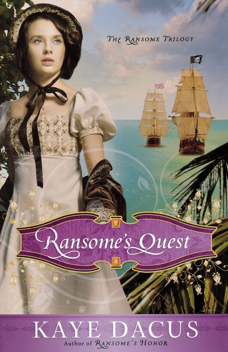 "Ransome's Quest (The Ransome Trilogy) by Kaye Dacus. This fast-paced, engaging end to the Ransome Trilogy follows a tale of love and danger on the Caribbean Sea in the early 1800s. Commodore William Ransome is searching for his sister, Charlotte, who has been captured by Salvador, the infamous ""Robin Hood of the West Indies."" When word comes that his wife, Julia, has been kidnapped by the evil pirate, Shaw, Commodore Ransome and his crew frantically search the horizon for the two women he..."