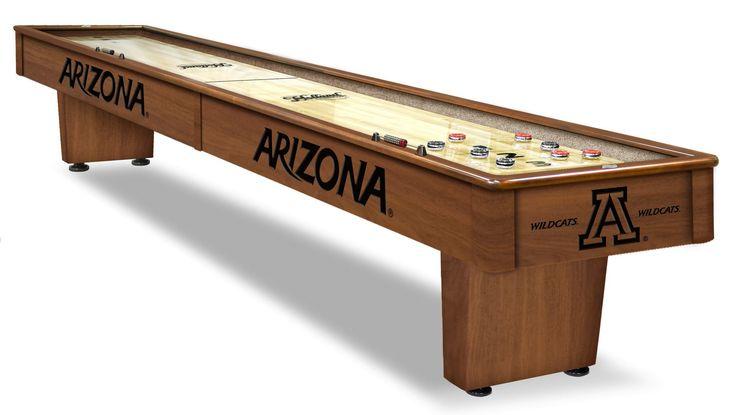 Arizona Wildcats Shuffleboard Table