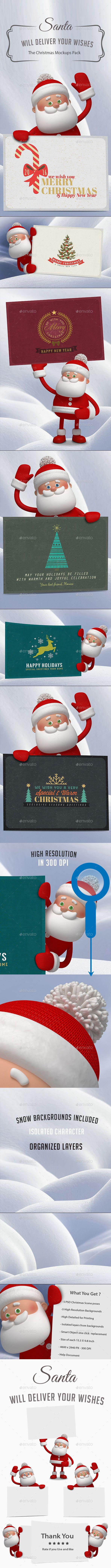 Santa - The Christmas Mockups