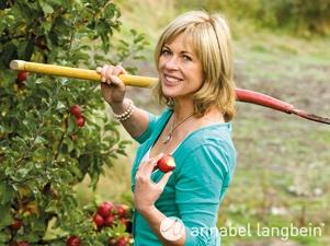 Annabel Langbein, celebrity cook.