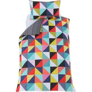 Buy Geometric Multicoloured Bedding Set - Single at Argos.co.uk - Your Online Shop for Children's bedding sets.