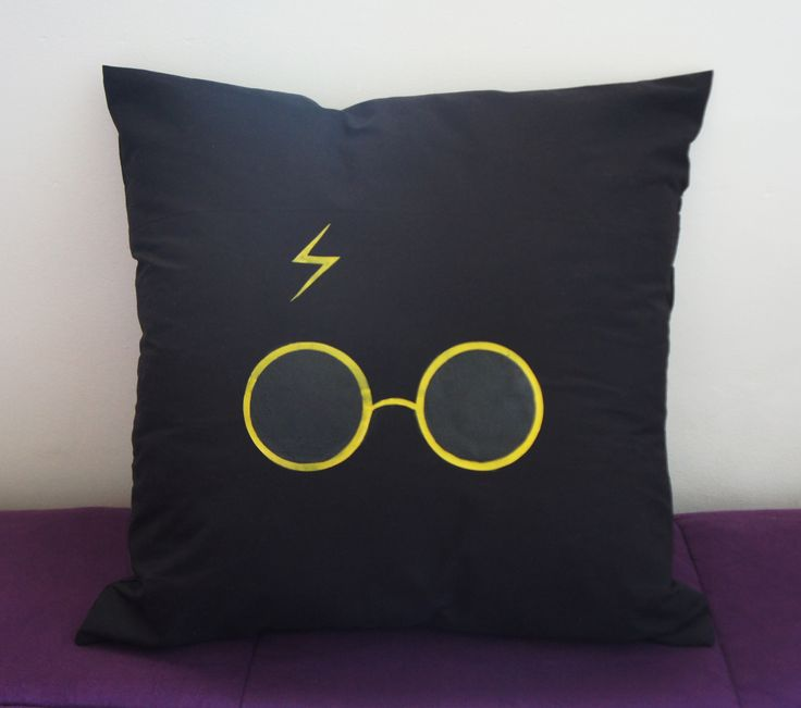 Almofada Harry Potter com Estampa de Silicone