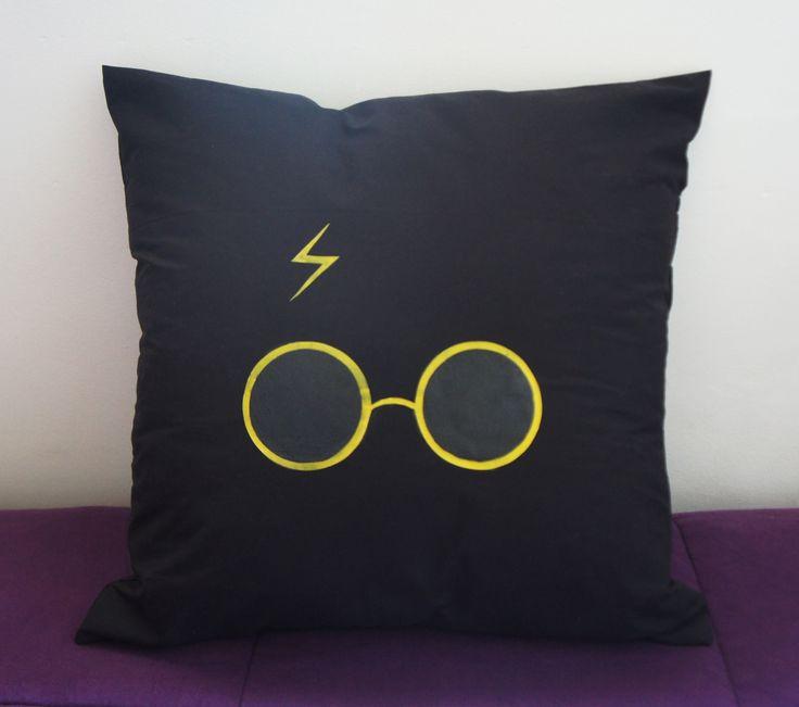 Almofada Harry Potter com Estampa de Silicone