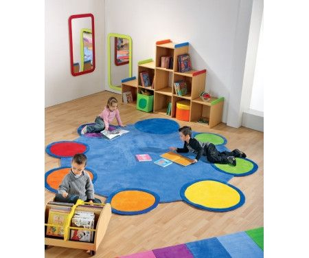 Giant Colorful Palette Of Colors Carpet | Honor Roll Childcare Supply - Early Education Furniture, Equipment and School Supplies.