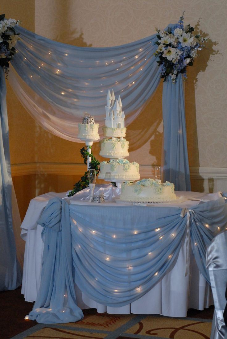 cinderella cake ideas | Tiaras And Tacones Party Planning - Decor / Linens Services
