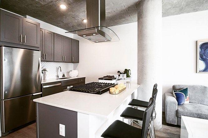 Four50 Belmont Apartments For Rent Chicago Modern Kitchen Apartment Modern Kitchen Design Apartment Kitchen