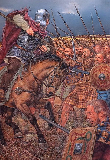 Northumbrian Saxons against Picts: The Battle of Dunnichen (Necthansmere), May 20th, 685