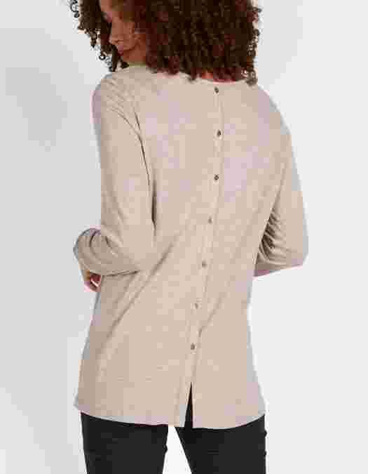 Main image showing Maltby Button Back Top