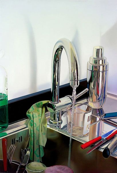 kitchen sink realism 62 best photorealistic painters images on 2845